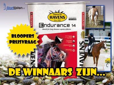 Winnaars Havens-blooper-actie!